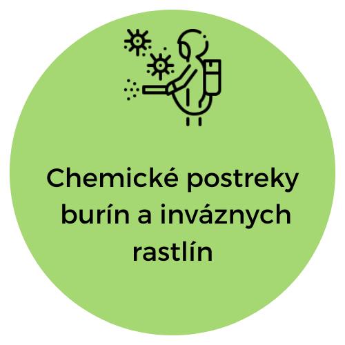 Unicarback - Chemické postreky burín a inváznych rastlín
