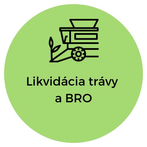 Likvidácia trávy a biologicky rozlozitelneho odpadu- Unicarback