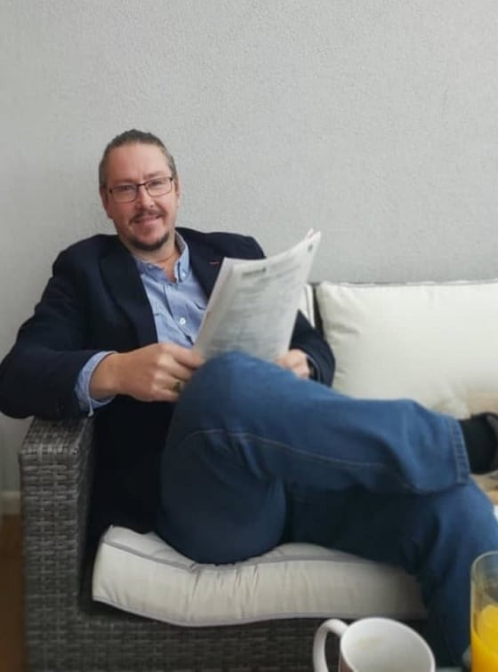 Martin - riaditeľ UNICARBACK