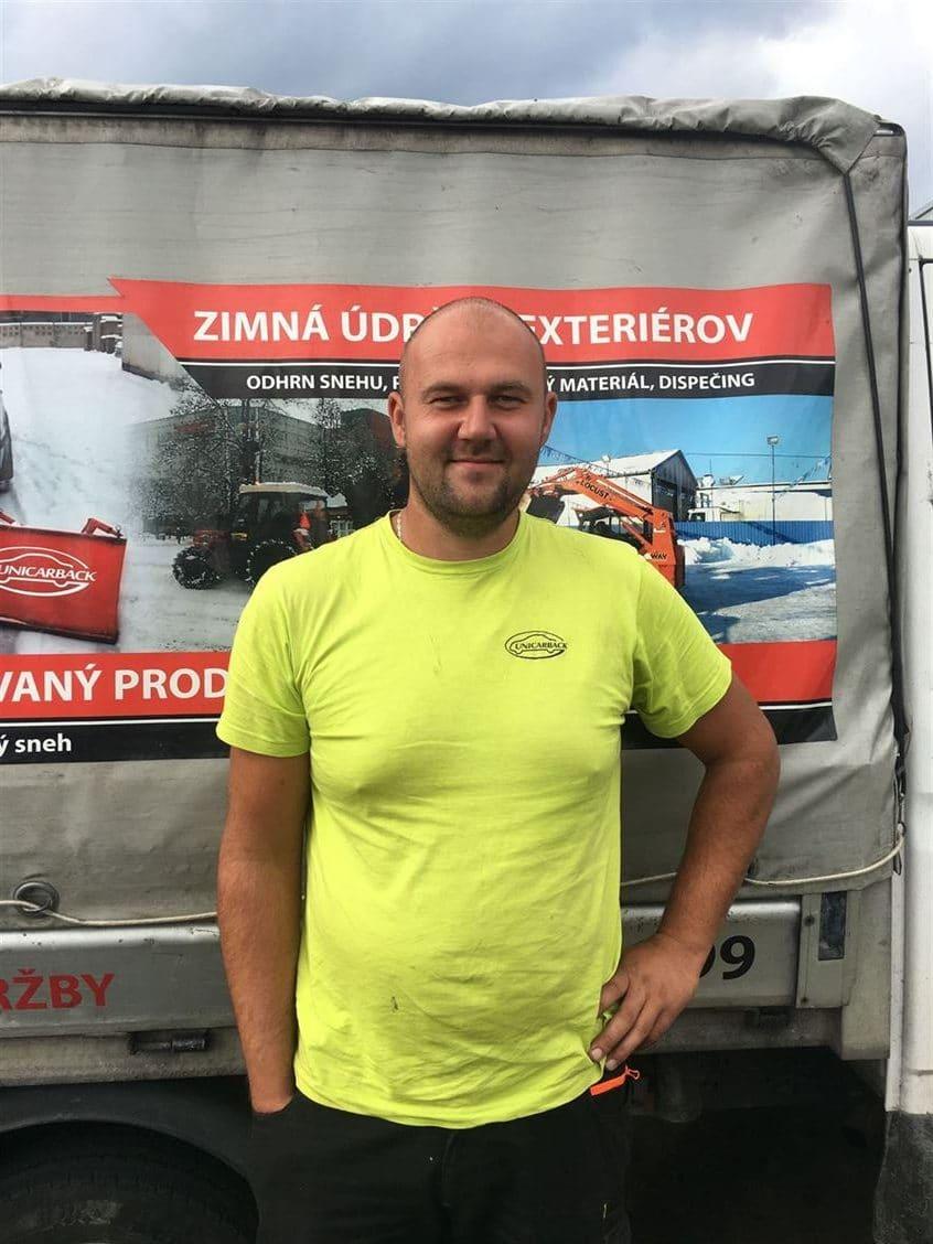 Pavel Filip   vedúci pracovník údržby UNICARBACK