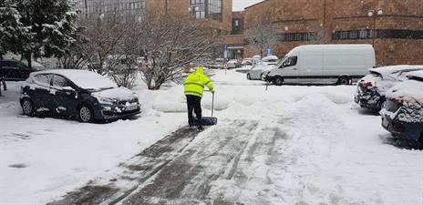 zimna udrzba unicarback odhrn snehu pohotovost